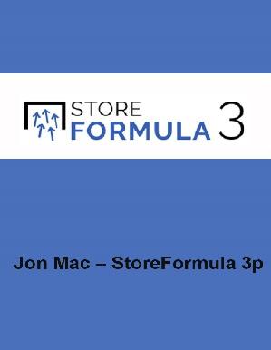 Jon Mac – Store Formula 3